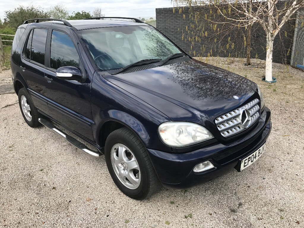 2004 mercedes ml270 facelife 2 7 diesel automatic 4x4 ml cdi 4 x 4 very clean great driver in. Black Bedroom Furniture Sets. Home Design Ideas