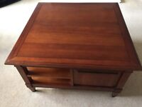 Wooden coffee table - laura Ashley