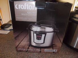 Crofton electric Multi cooker very good condition