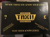 Edinburgh Taxi board game.