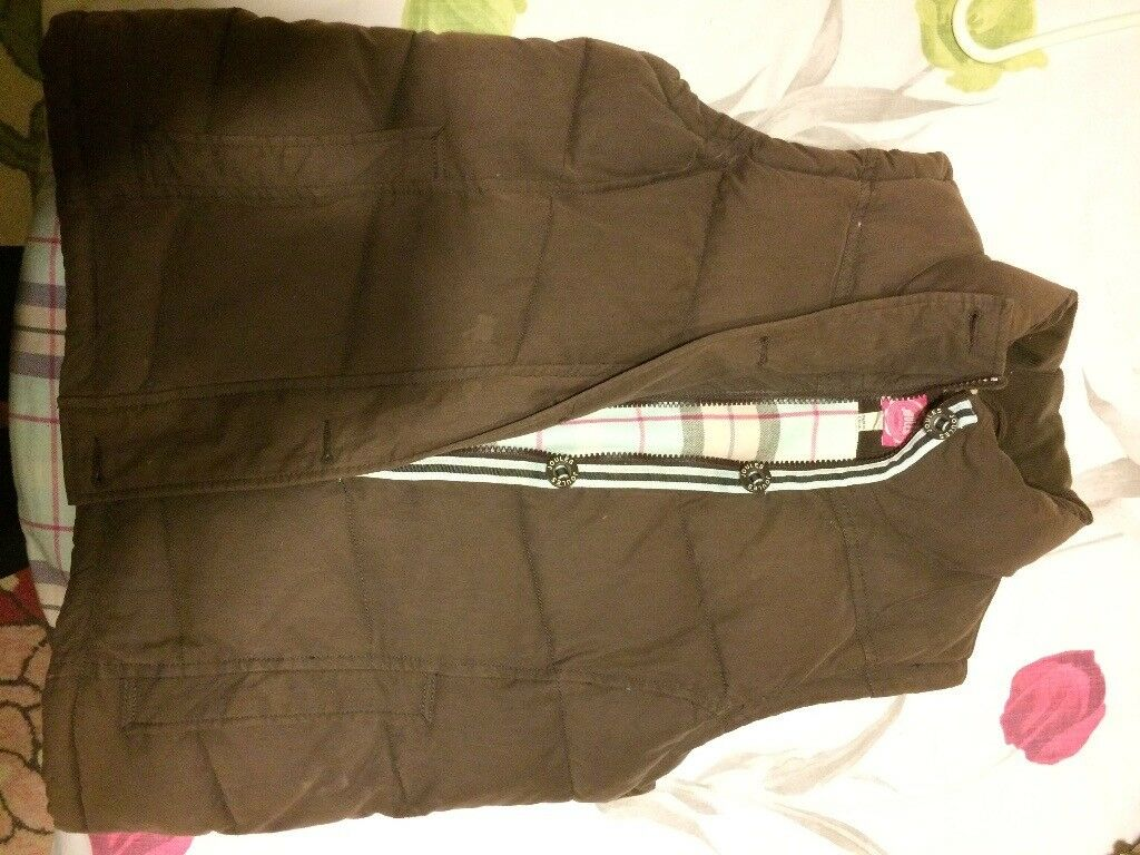 Joules Brown Gilet