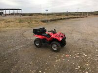 For Sale 2013 Honda Fortrax 420 Quad