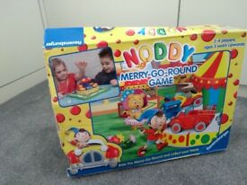 Noddy Merry Go Round Game- age 3 years upwards for 2-4 players