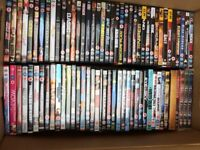 Over 70 DVDs