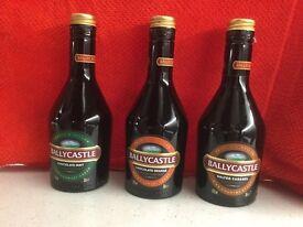 3 bottles of ballycastle