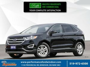 2016 Ford Edge SEL ***dual exhaust, rear camera***
