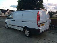 Diesel 2005 Mercedes Vito109 Van 6 Speed Long Mot Central Locking 2xRemote Keys Cruise Roof Rack