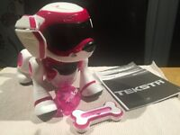 Teksta Voice Recognition Robot Puppy Pink
