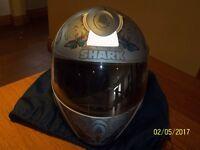 Ladies Blue butterfly, Motorbike helmet
