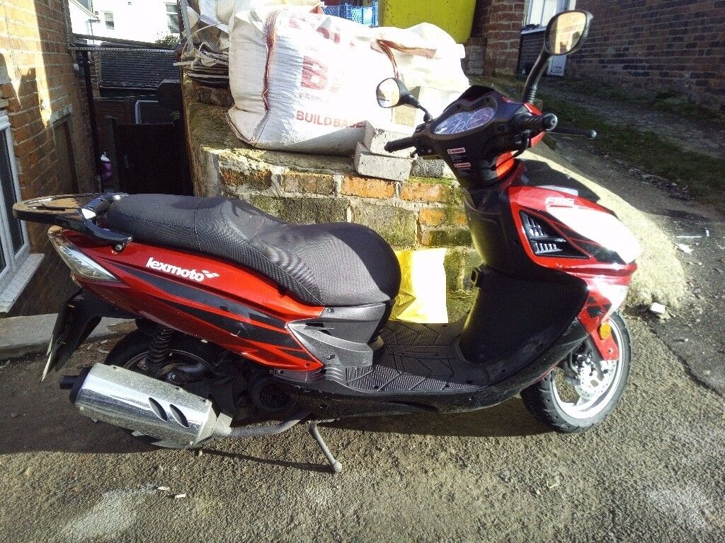 LEXMOTO FMS 125CC SCOOTER FOR SALE