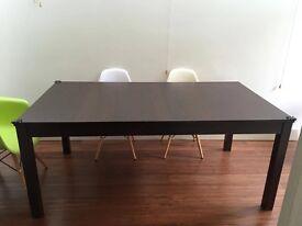 Brown IKEA BJURSTA Table