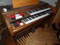 Old Organ Piano