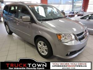 2015 Dodge Grand Caravan STOW AND GO WITH LEATHER