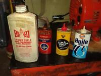 Oil Cans-Small Collectable Ones for Sewing Machines Etc.