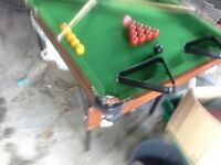 5foot snooker/pool table
