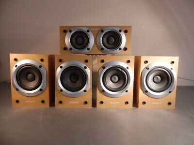SONY SURROUND SPEAKERS SYSTEM SS-MSP55
