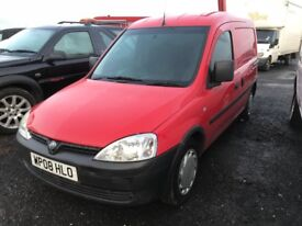 *** 2008 COMBO 1700 CDTI FWD ONLY £995