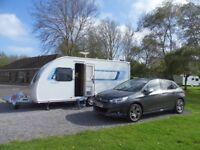 Sprite/Swift Touring Caravan 2012