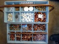 Box full of Plumbing & Heating Fittings