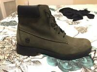 Womens Timberland slim premium 6 inch boots forest night nubuck girls ladies size 7