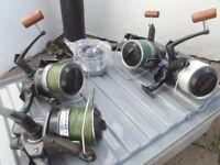 3 x Daiwa Carp Fishing Infinity X 5500 and 1 x X5000 BR Reels