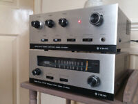 Vintage Trio Solid State Hi-Fi Seperates