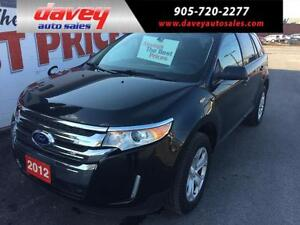 2012 Ford Edge SEL AWD, NAVIGATION, SUNROOF, LEATHER INTERIOR