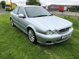 58 REG JAGUAR X TYPE 2.2 TURBO DIESEL SE AUTOMATIC-12 MONTHS MOT TEST-FULL HISTORY-2 KEYS-SAT NAV