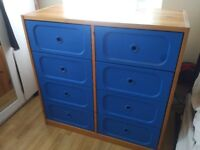 Ikea trofast unit with 8 drawers