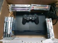 PS3 200GB with 14 games and controller