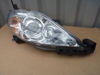 DRIVERS SIDE HEAD LIGHT FOR MAZDA 5 SPORT MPV 2L DIESEL 2007.