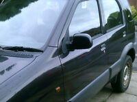 Daihatsu Terios 4x4 get ready for winter