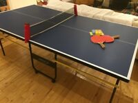 3/4 size table tennis table
