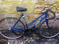 """Vintage elswick road bike 10 speed 19"""" frame 700c wheels"""