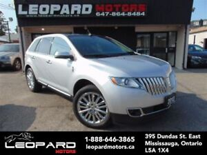 2013 Lincoln MKX Navigation,Camera,Panoramic*No Accident*