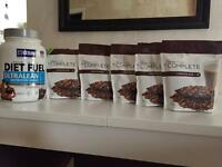 Juice plus complete & usn diet fuel