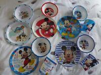 Melamine Toddler/Childrens Dinner Sets. Various Designs.