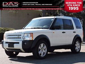 2007 Land Rover LR3 V8 SE 7 PASS/LEATHER/SUNROOF