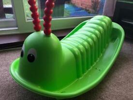 Green Rockin' Caterpillar
