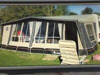 Isabella awning commodore alpha tweed 3 M wide size 1050