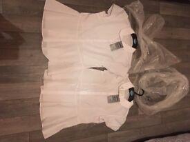 2 girl's school blouses age 14-15 from M&S School Range BNWT
