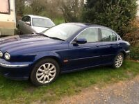 2002 X type jaguar 2.5 AWD PETROL