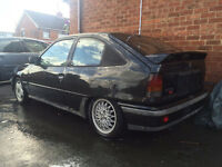 breaking mk2 astra 16v 1989 parts spears red top