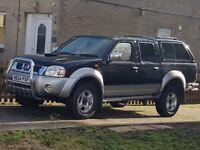 NISSAN NAVARA 4X4 DOUBLE CAB PICK UP TRUCK 2.5 TD