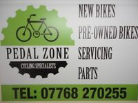 Bikes/New/Second Hand/Bike Servicing