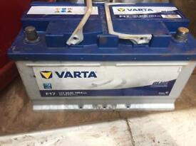Vart a f17 12 volt battery 2 years old needs charging