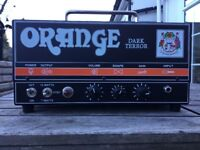 Orange dark terror amp and speaker cab - in excellent condition