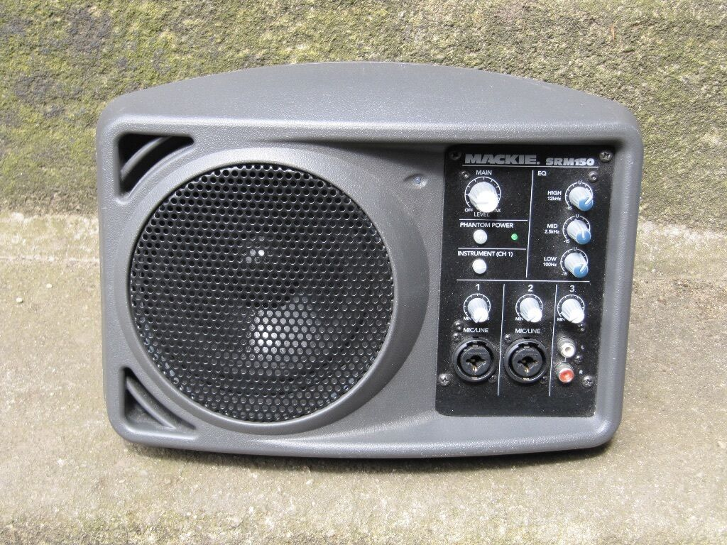 mackie srm 150 compact powered personal monitor pa speaker faulty in otley west yorkshire. Black Bedroom Furniture Sets. Home Design Ideas