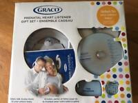 Graco Prenatal Heart Listener Gift Set *REDUCED*