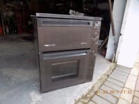 Cred cachet electric double oven and grill